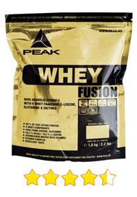 Peak Whey Fusion Test 2018 - Whey Protein